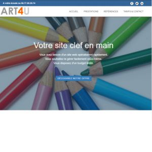 art4u-pro- création de sites internet